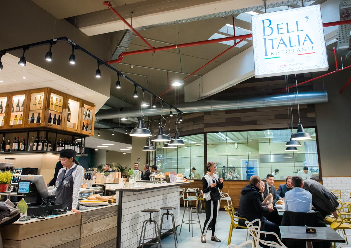 Con Bell'Italia anche CAMST a FICO Eataly World