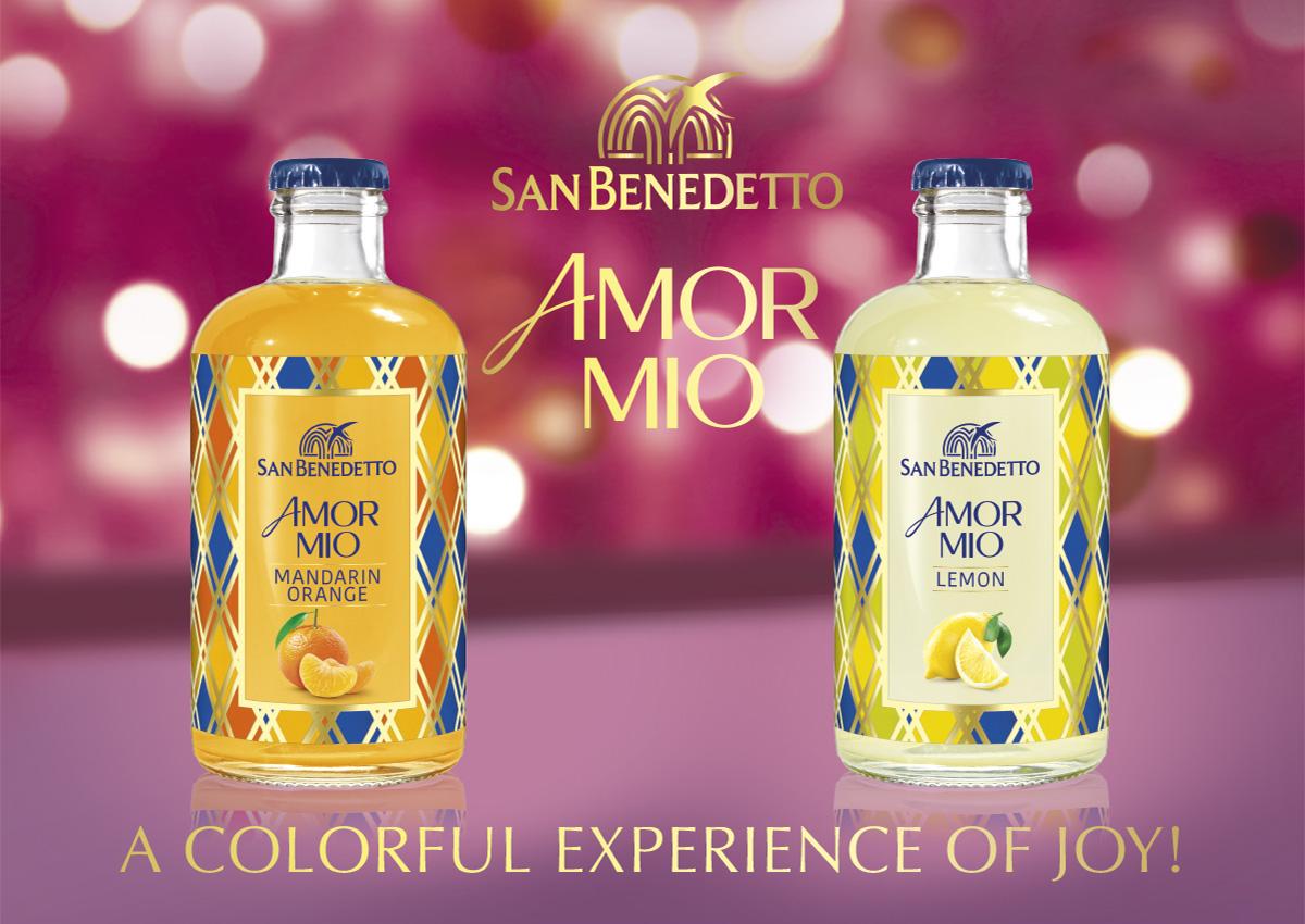 Bibite San Benedetto Amor Mio – a colorful experience of joy!