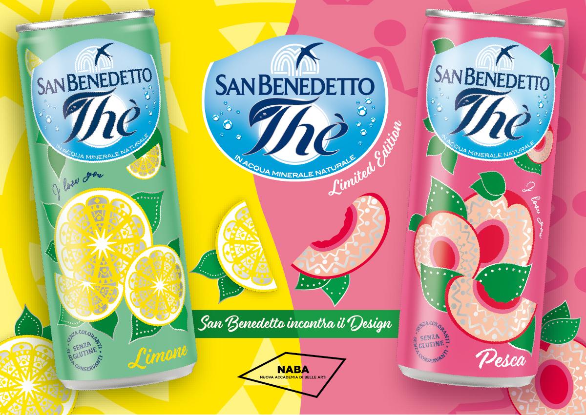 San Benedetto: Thè Sleek Naba Special Edition