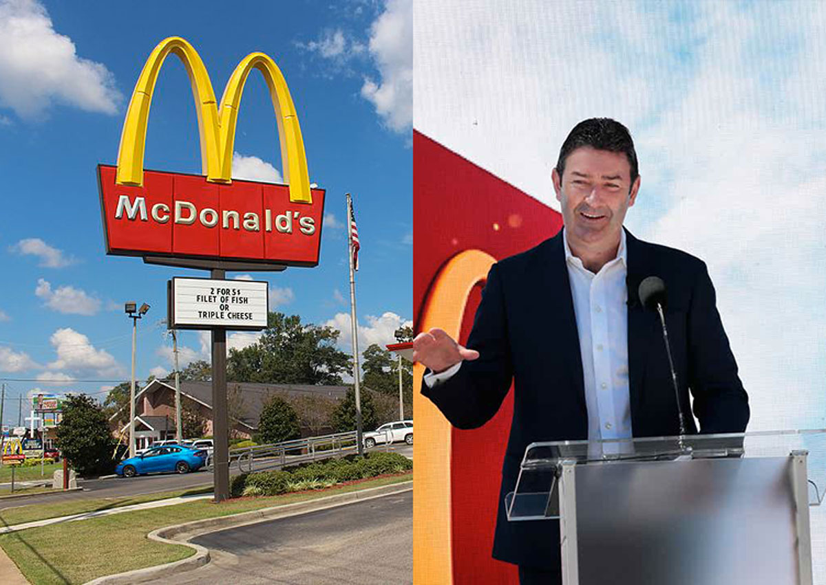 McDonald's licenzia Easterbrook, il Ceo dei record in Borsa