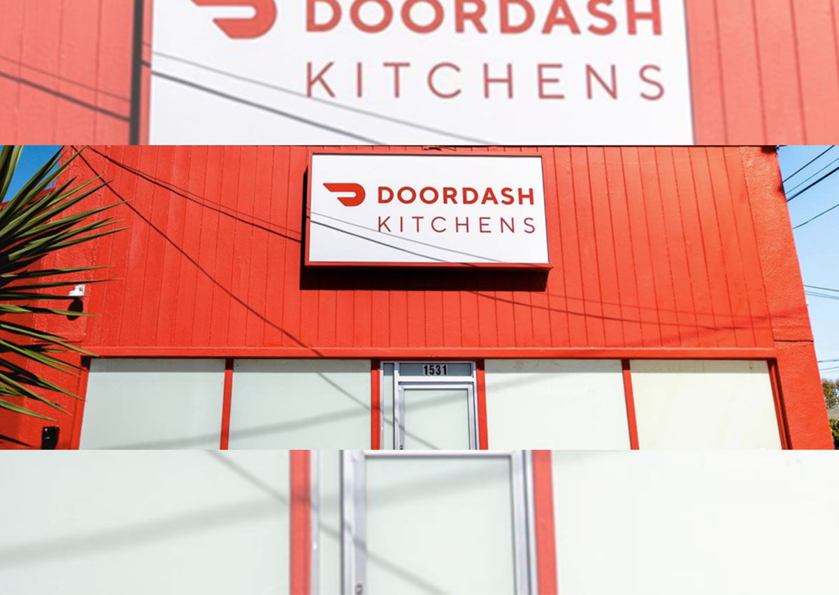 "Doordash apre la sua ghost kitchen: un ""coworking"" per i format"