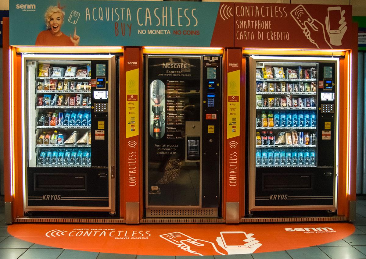 Vending, oggi il caffè si acquista cashless