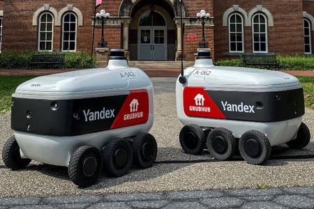 Grubhub lancia il delivery con i robot