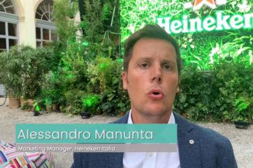 Una birra sostenibile: Heineken porta il Greener Bar a Milano
