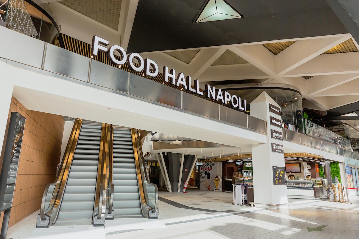 Nuova Food Hall a Napoli Centrale